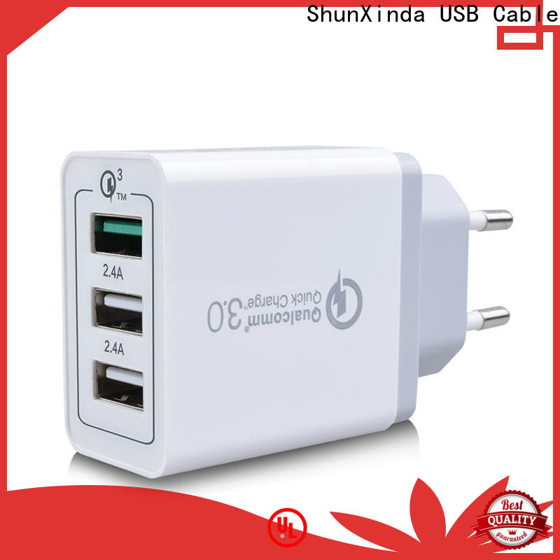 ShunXinda adapter usb fast charger supply for indoor