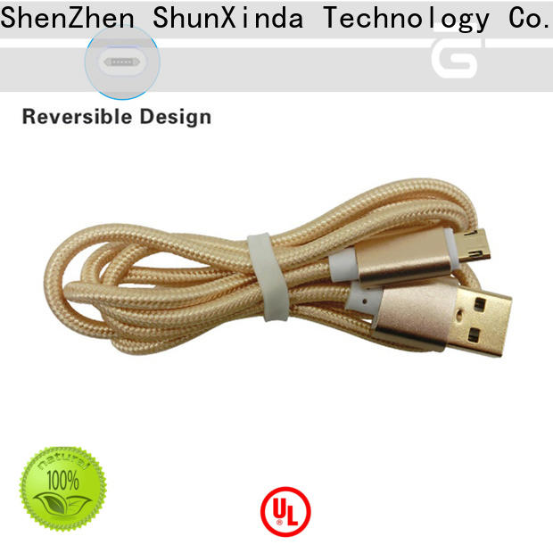 ShunXinda charger micro usb to usb suppliers for home