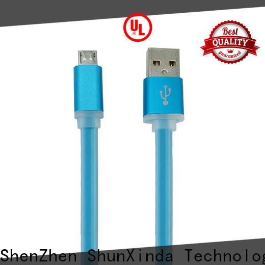 ShunXinda fabric micro usb charging cable factory for indoor