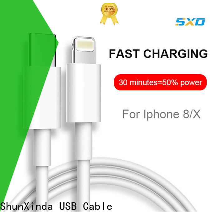 ShunXinda design apple lightning to usb cable manufacturers for home