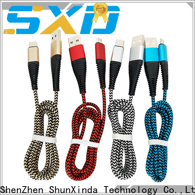 ShunXinda Top apple charger cable for business for car