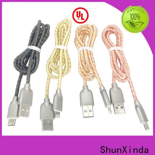 ShunXinda Custom apple usb cable for business for car