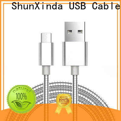 ShunXinda stainless micro usb to usb factory for car
