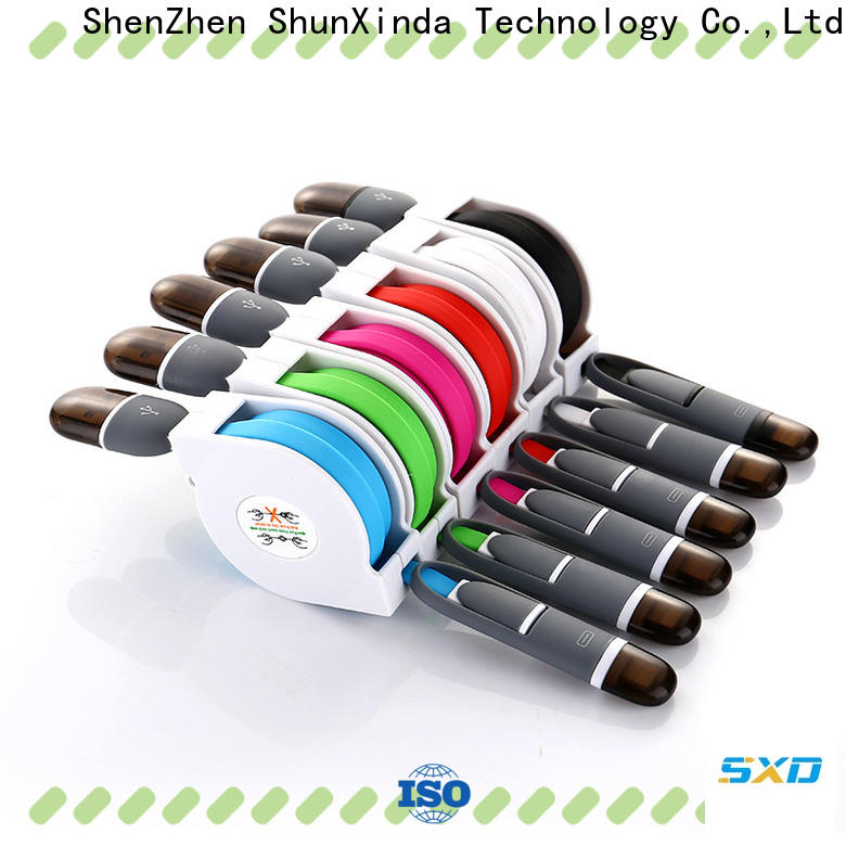 ShunXinda New micro usb charging cable factory for car