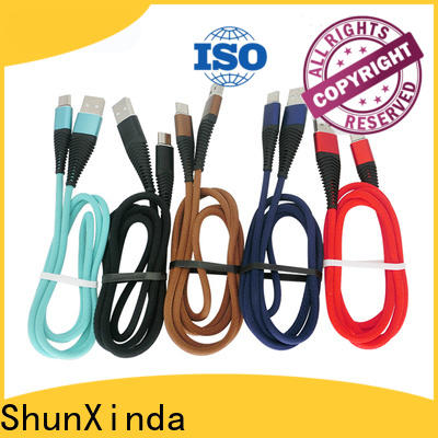 ShunXinda fast cable usb type c company for car