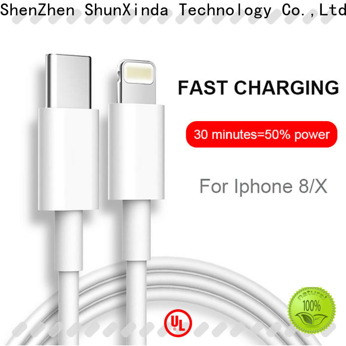 ShunXinda Wholesale iphone charger cord suppliers for car