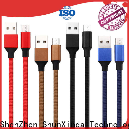 ShunXinda Wholesale micro usb charging cable manufacturers for home