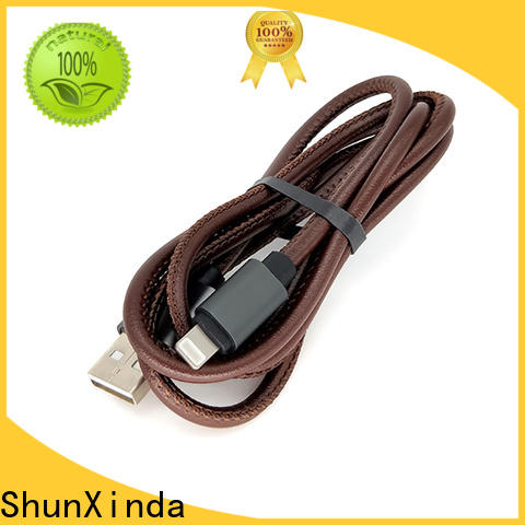 ShunXinda sync iphone charger cord factory for indoor