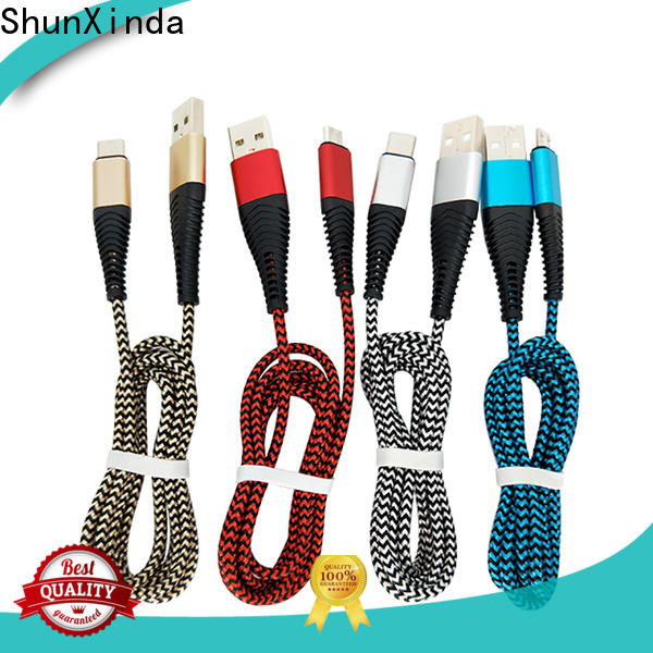 ShunXinda New apple lightning to usb cable manufacturers for indoor