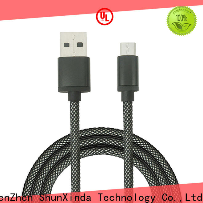 ShunXinda High-quality micro usb charging cable manufacturers for car