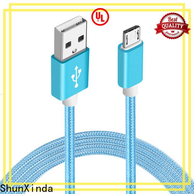 ShunXinda flat cable micro usb manufacturers for car