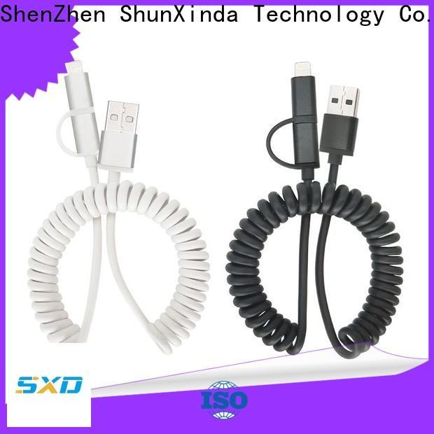 ShunXinda lanyard usb multi charger cable supply for home