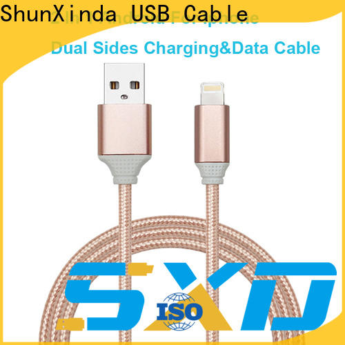 Top multi device charging cable nylon company for car