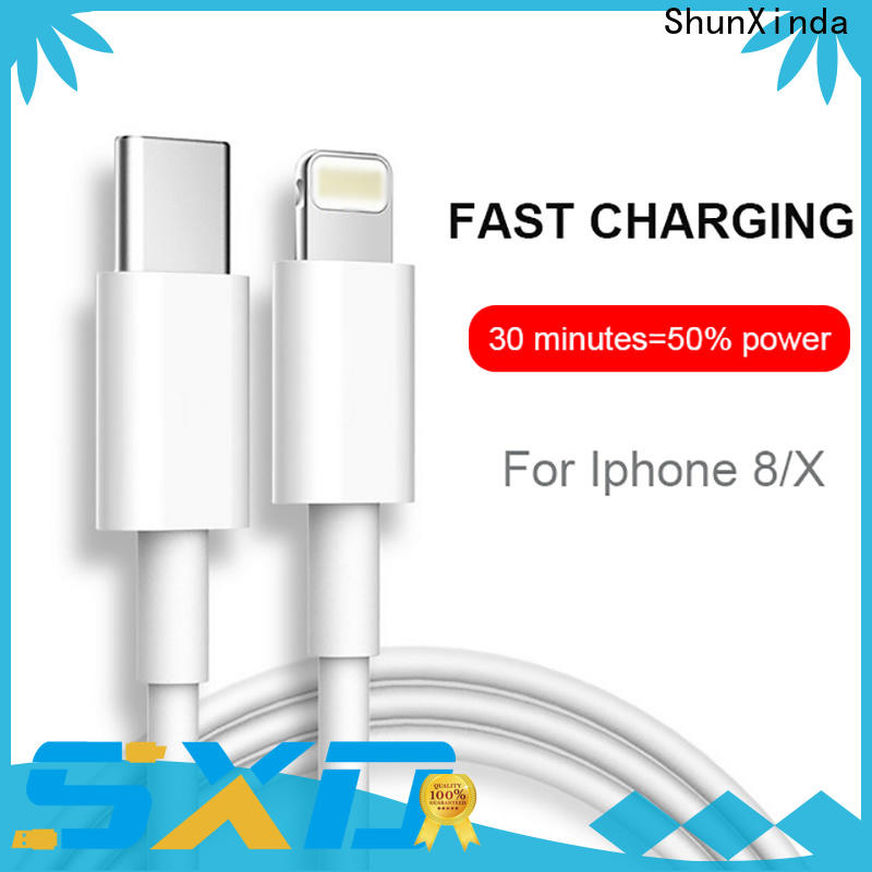 ShunXinda Latest lightning usb cable manufacturers for home