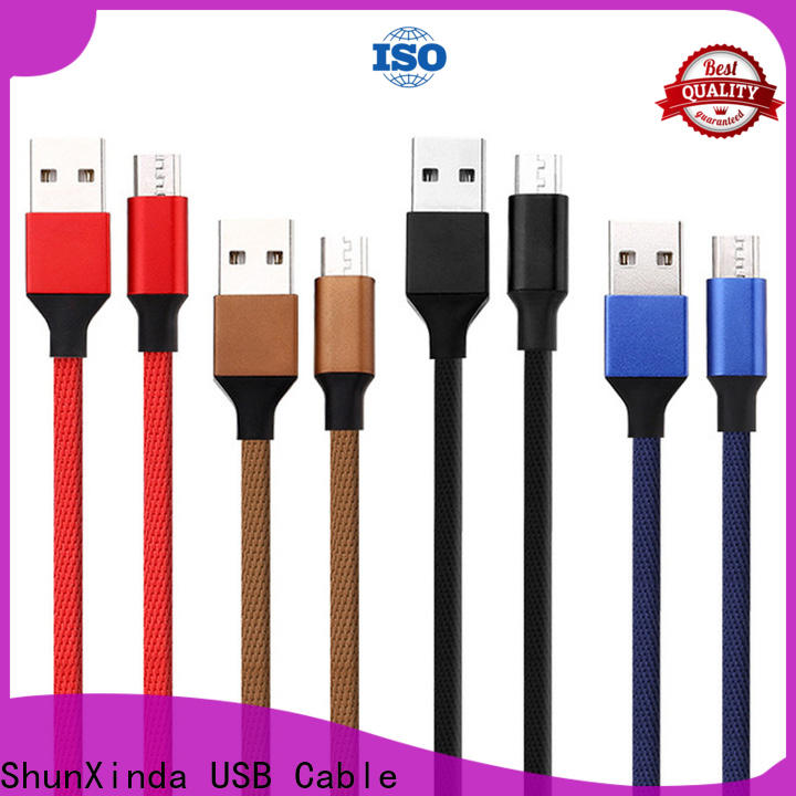 ShunXinda Wholesale cable usb micro usb company for indoor