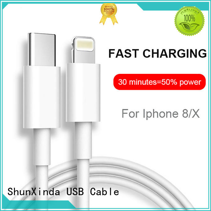 ShunXinda online lightning usb cable supply for indoor