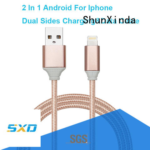Wholesale retractable retractable charging cable ShunXinda Brand