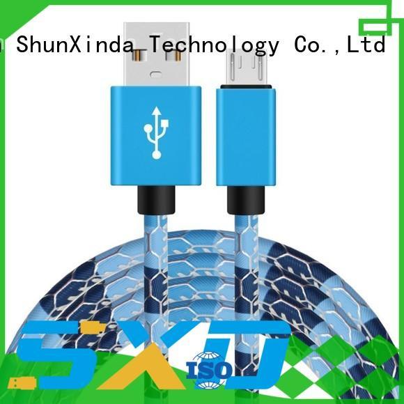 iphone original long micro usb cable ShunXinda manufacture