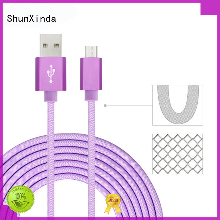 ShunXinda Best fast charging usb cable company for home