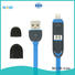 retractable charging cable braided multi charger cable ShunXinda Brand