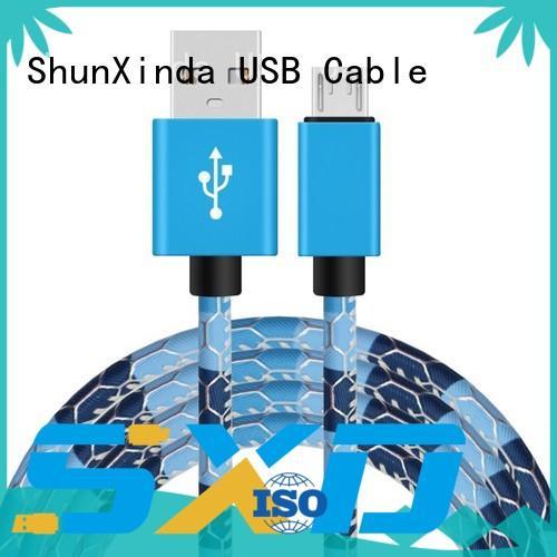 nokia huawei galaxy ShunXinda Brand long micro usb cable manufacture