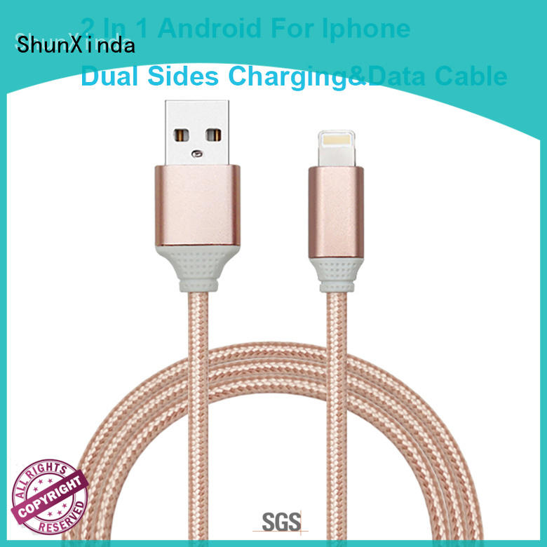 ShunXinda customized charging cable for business for indoor