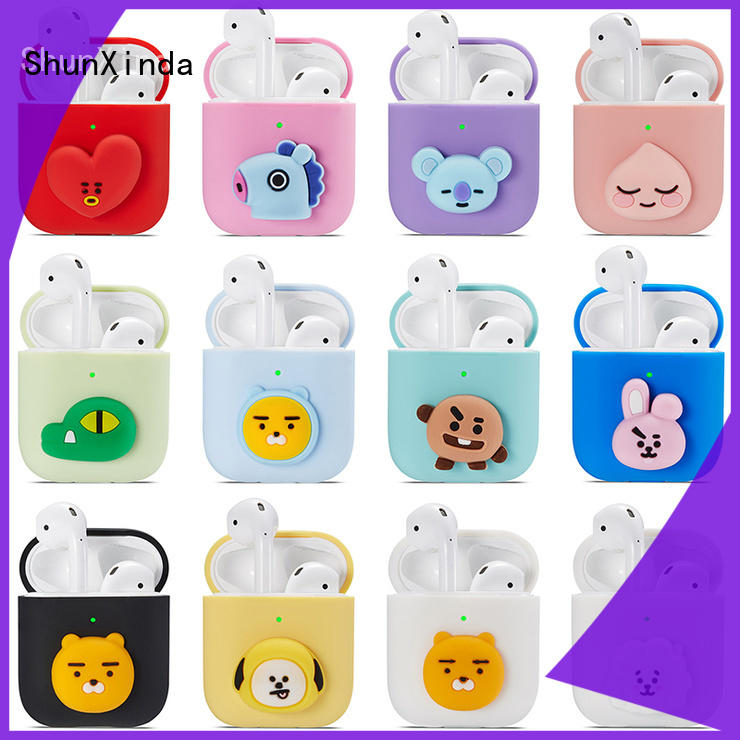 comfortable silicone airpods case manufacturers for earphone