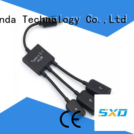 ShunXinda gift charging cable factory for car