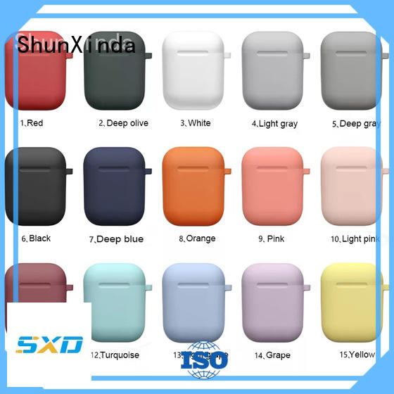 ShunXinda Wholesale wireless charging case supply for airpods