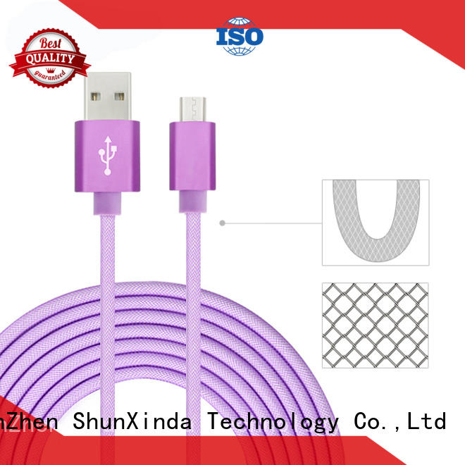 ShunXinda usb fast charging usb cable suppliers for indoor