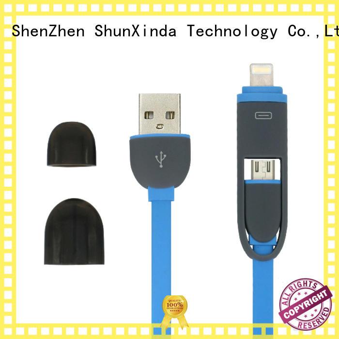 Custom mobile samsung multi charger cable ShunXinda data