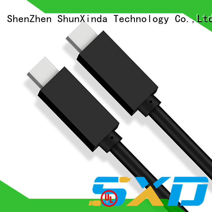 ShunXinda charger cable usb type c manufacturers for indoor