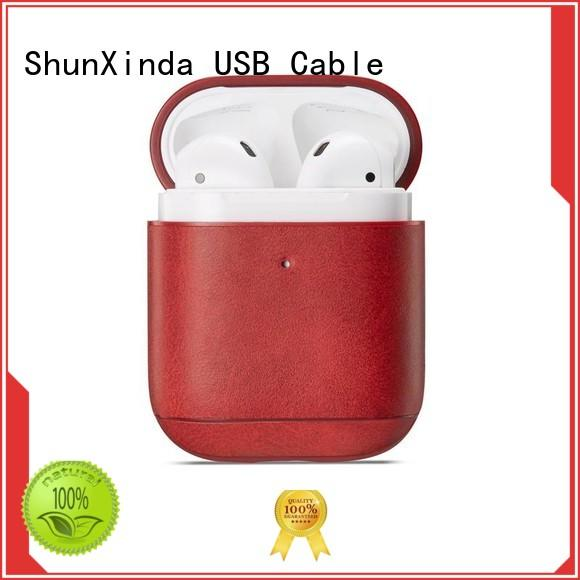 ShunXinda high quality wireless charging case manufacturers for earphone