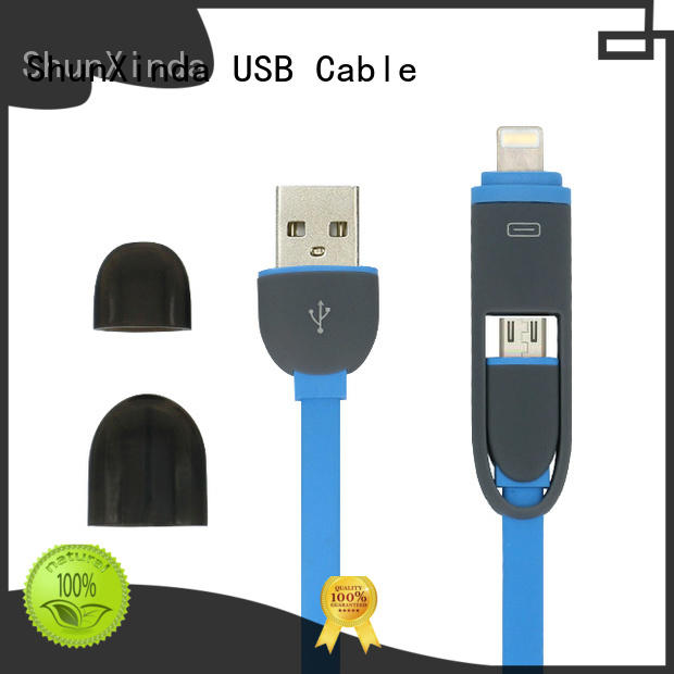 android pu gift functional multi charger cable ShunXinda
