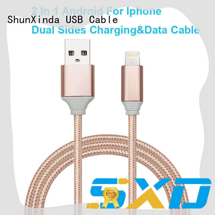 ShunXinda cord multi charger cable for business for home