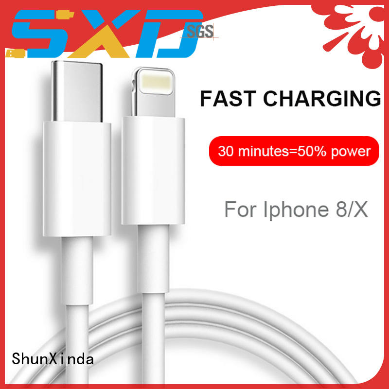 ShunXinda flowing apple lightning to usb cable for business for home