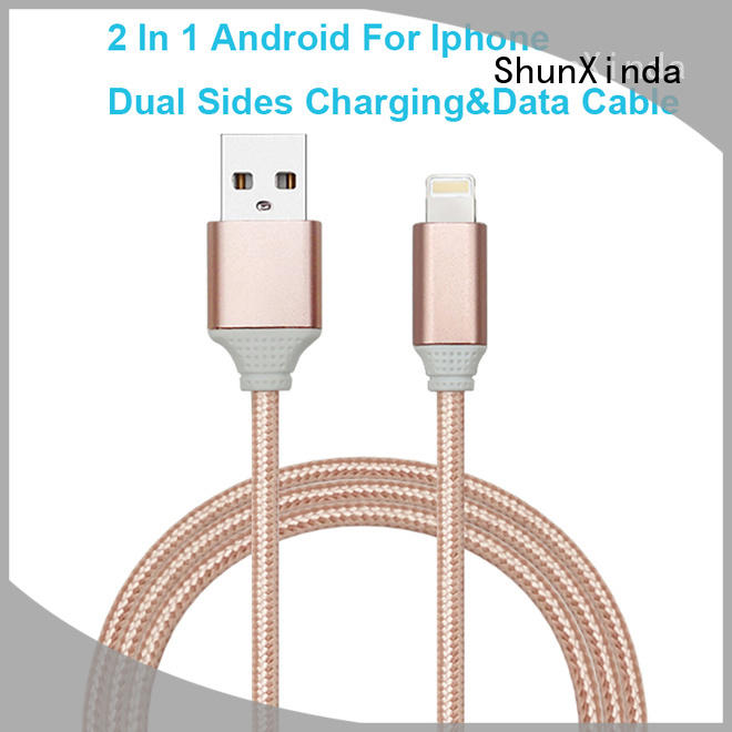 ShunXinda customized charging cable factory for home