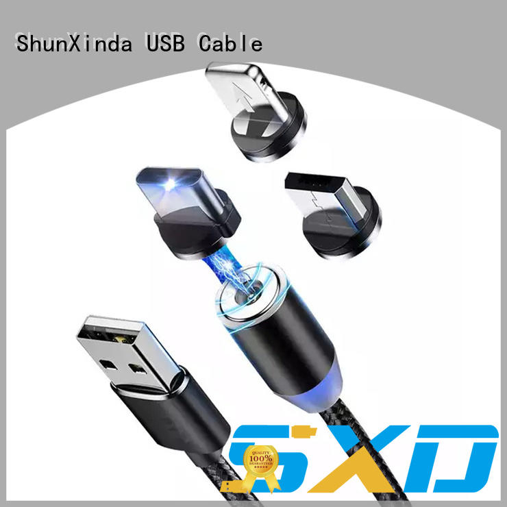Custom usb multi charger cable pu for business for car