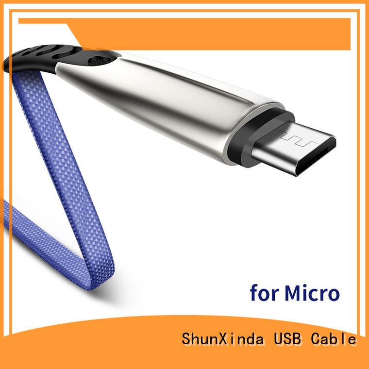 ShunXinda customized usb to micro usb company for indoor