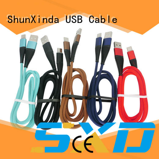 ShunXinda mobile cable usb c suppliers for car