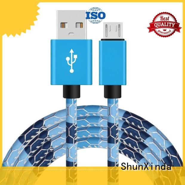 ShunXinda tpe micro usb to usb supply for car