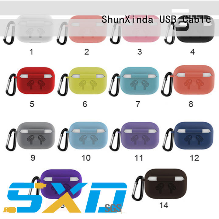 ShunXinda airpods charging case for business for earphone