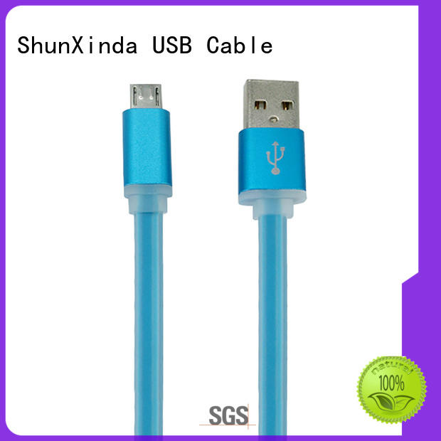 ShunXinda fishnet best micro usb cable manufacturers for indoor