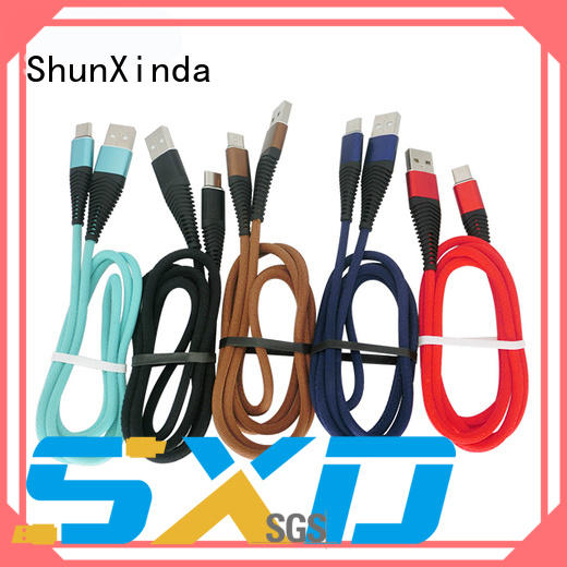 ShunXinda charging Type C usb cable factory for indoor