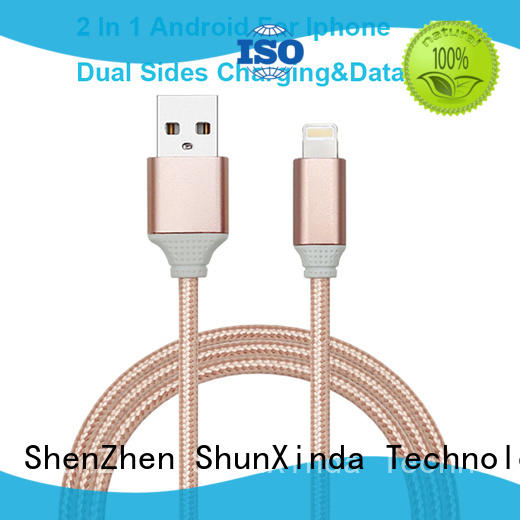 ShunXinda cloth multi charger cable supply for home