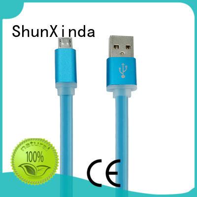 oem degree long micro usb cable quick ShunXinda company