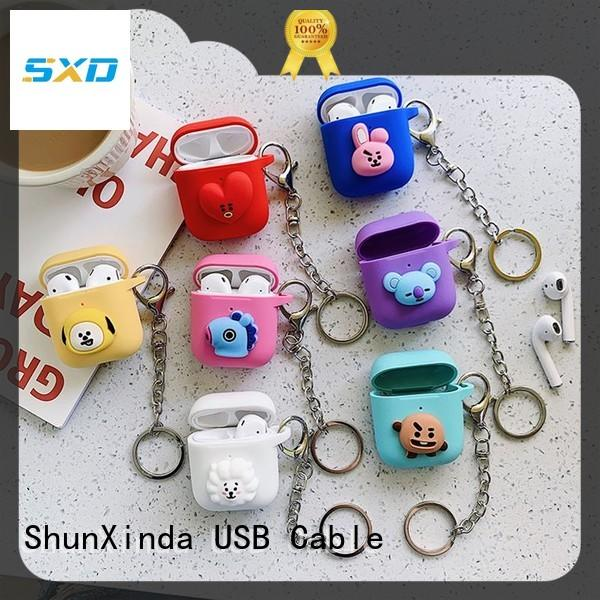 ShunXinda silicone airpods case factory for apple airpods