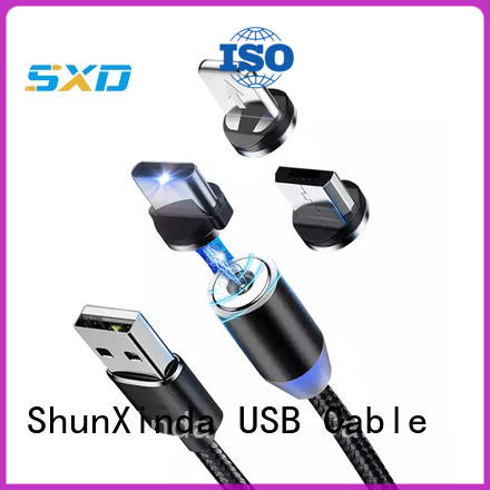 ShunXinda nylon multi charger cable factory for indoor