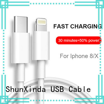 ShunXinda customized apple usb cable company for indoor