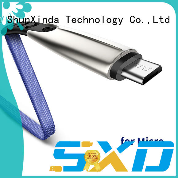 ShunXinda alloy best micro usb cable suppliers for car